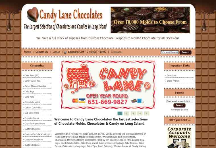 Candy Lane Chocolates