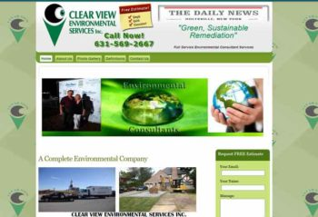 "<a href=""http://clearviewenvironmental.com/"" target=""_blank""><center>Clearview Environmental</a>"
