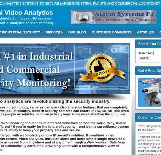 Industrial Video Analytics