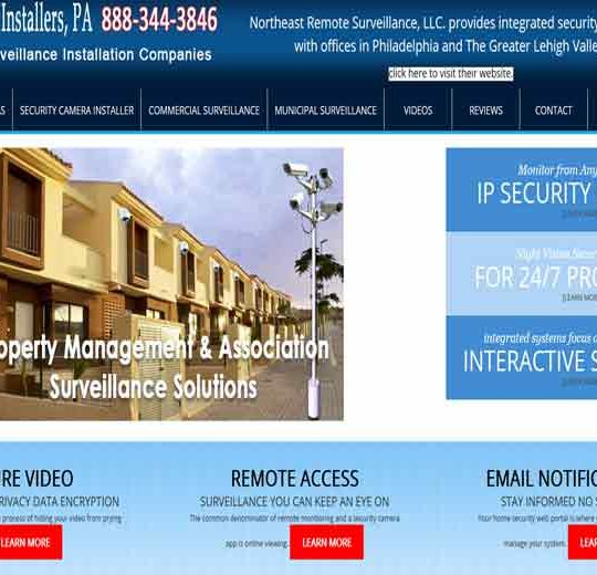 Security Camera Installers PA