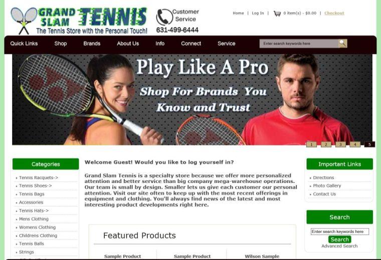 Grand Slam Tennis NY