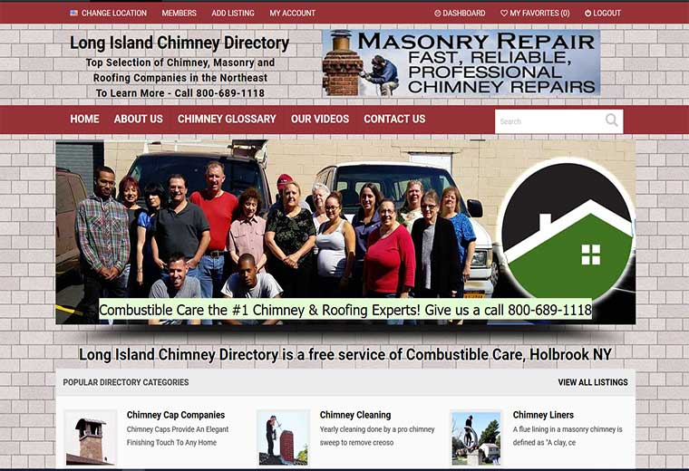 Long Island Chimney Directory