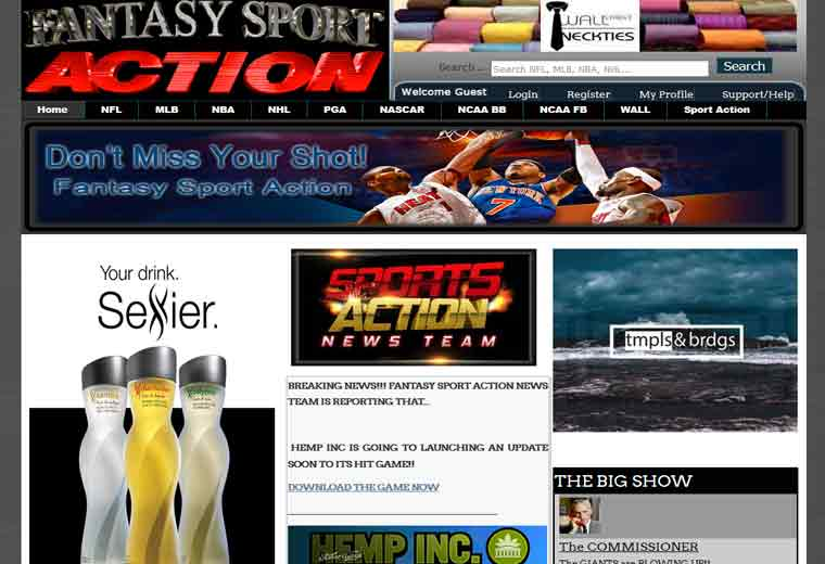 Fantasy Sport Action