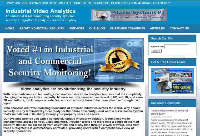 Industrial Video Analytics