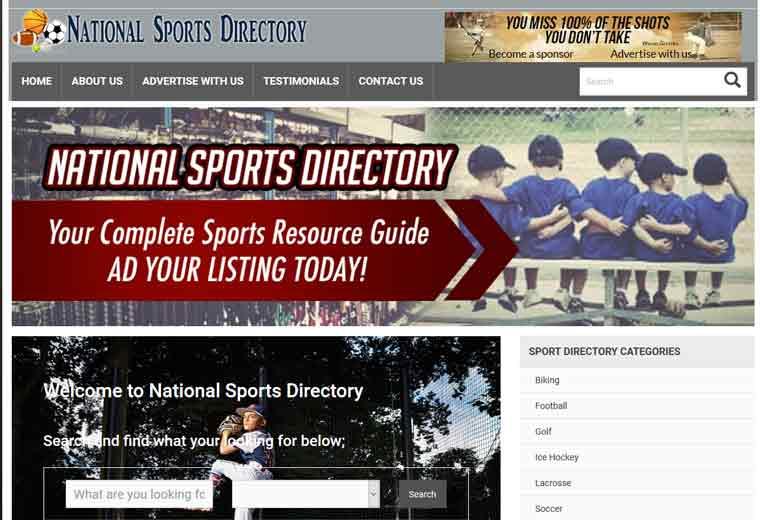 Sport Equipment Listing