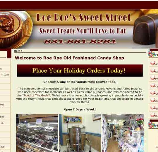 Roe Roe Sweet Street