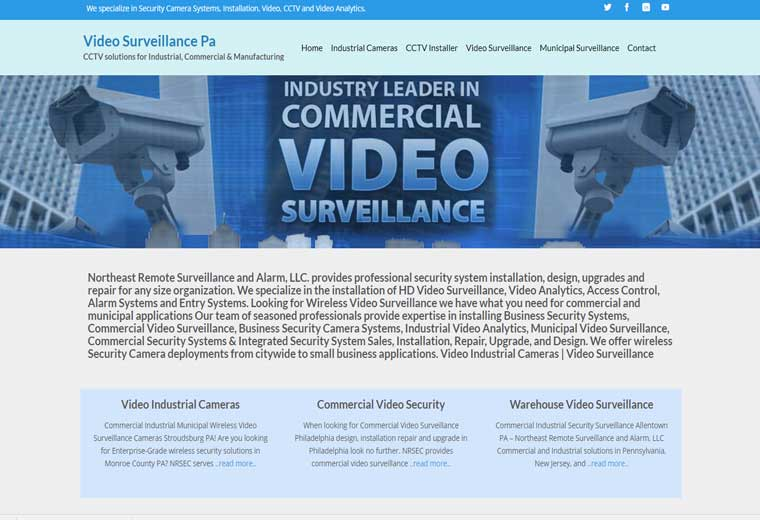 Video Surveillance PA